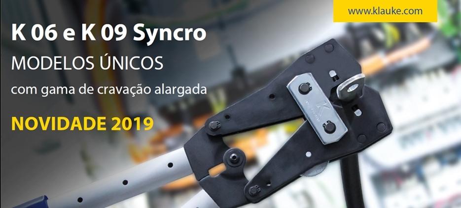 K06 e K09 Syncro - A nova ferramenta de cravação KLAUKE