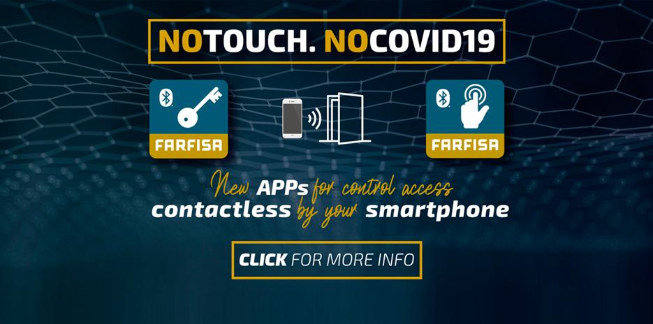 Apps para vídeo-intercomunicadores para máxima segurança - Farfisa